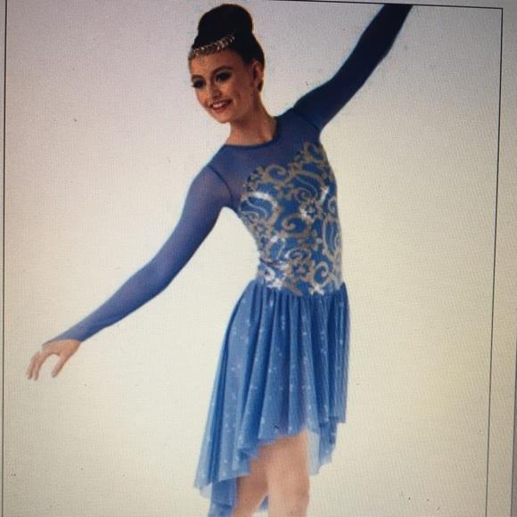 e9399689dfa0 Weissmans Costumes | Blue Lyrical Dance Costume | Poshmark